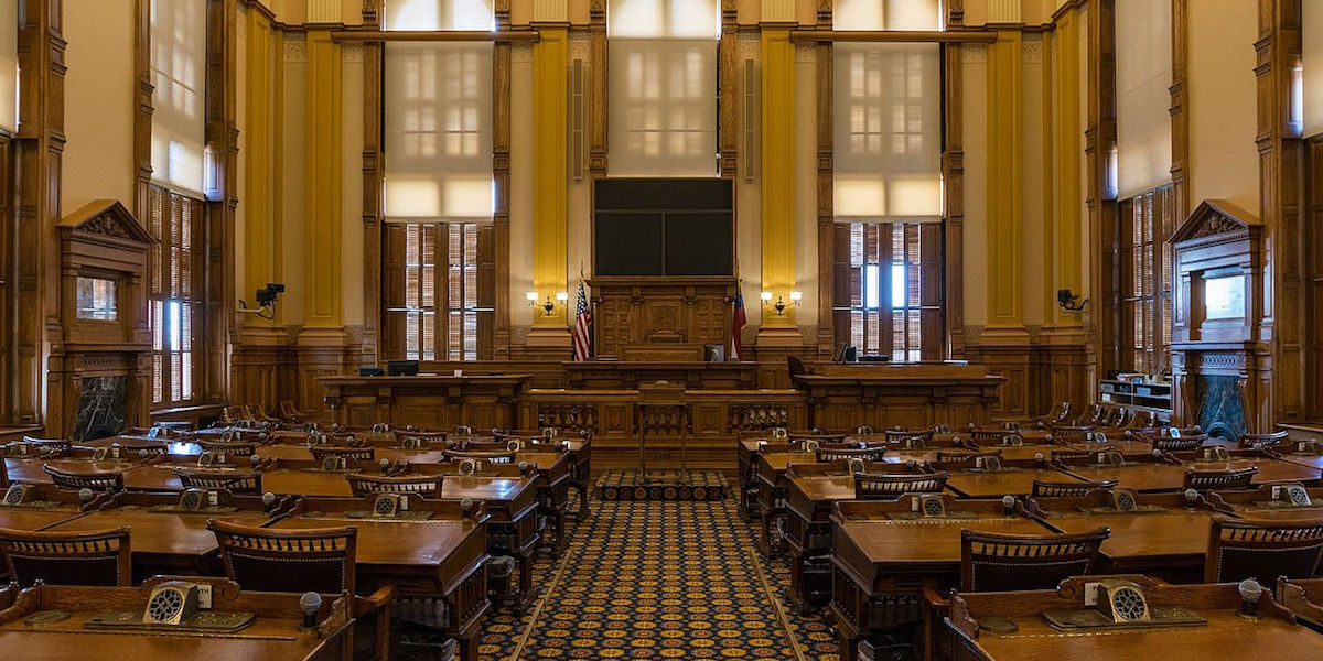 Get Weekly Updates on Legislation in GA